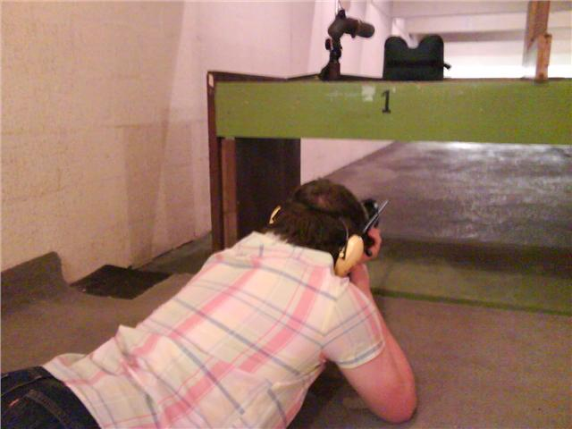 Lightweight Sporting Rifle Shooting - Prone